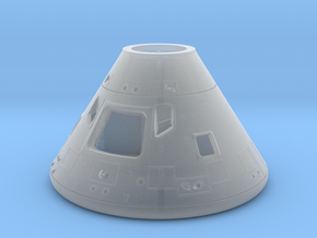 27b-28-Command Module-Open hatch-SW in Smooth Fine Detail Plastic