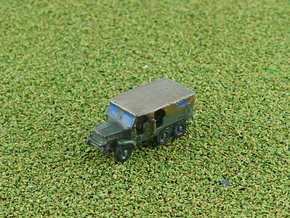 French Laffly S20TL Dragoon Truck (Closed) 1/285 in Smooth Fine Detail Plastic