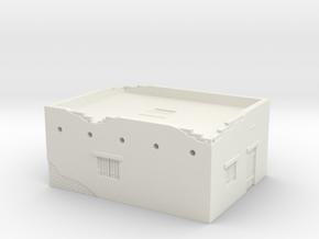 Desert House 1/144 in White Natural Versatile Plastic