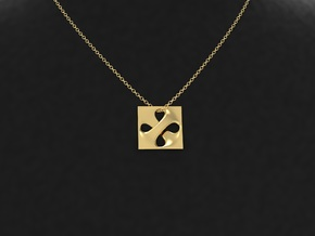 Pendant Necklaces for Women with Unique Designs in 18k Gold Plated Brass