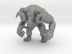Rampage Ramsey 55mm miniature model kaiju monster in Gray PA12
