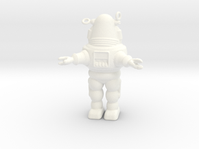 Robby - 1.24 scale in White Processed Versatile Plastic