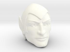 Arkion Head in White Processed Versatile Plastic