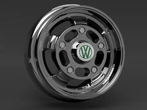 1/64 scale Brahim Racing Wheels - 8mm Dia in Smoothest Fine Detail Plastic