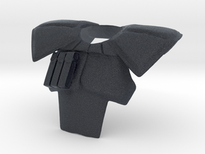 ARC trooper pauldron (animated version) in Black PA12