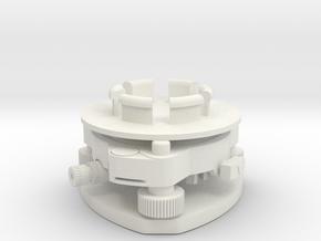 Geodimeter Model 6 - Base 1/4 scale in White Natural Versatile Plastic