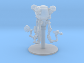 28mm Wastefall Handy Robot in Smoothest Fine Detail Plastic