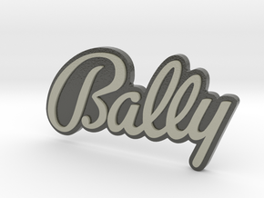 bally badge - 3 inch wide - coloured in Glossy Full Color Sandstone