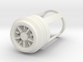 Blade Plug - Blackstar in White Natural Versatile Plastic