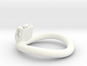 Cherry Keeper Ring - 49mm -8° in White Processed Versatile Plastic