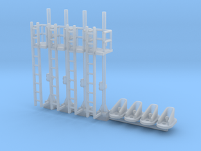 N Scale Digitrax Detailing SN2AB Mainline Set in Smooth Fine Detail Plastic