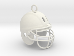 American football NFL helmet 2009290125 in White Natural Versatile Plastic