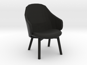 desktop mini chair  in Black Natural Versatile Plastic: Small