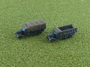 German Henschel 33 D 1 Truck 1/285 in Smooth Fine Detail Plastic