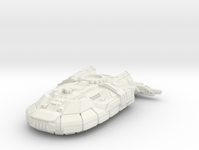 Hoover Light Tank - Laser in White Natural Versatile Plastic: 6mm