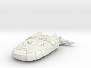 Hoover Light Tank in White Natural Versatile Plastic: 6mm