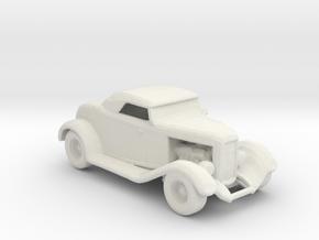 1932 Rag Top Hot Rod 1:160 scale in White Natural Versatile Plastic