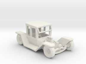 Flat Fenders Hot Rod 1:160 scale in White Natural Versatile Plastic