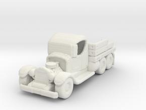 Probation Runner Rod 1:160 scale in White Natural Versatile Plastic