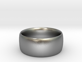 Plain Ring in Raw Silver