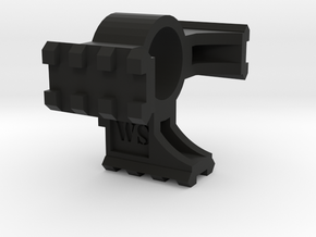 Airsoft M249 Bipod Rail - Tri Rail in Black Natural Versatile Plastic