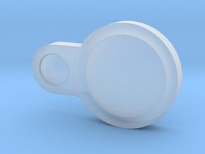 Captain Action Silver Streak headlight - Left in Smooth Fine Detail Plastic