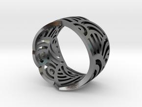 vase ring 1 in Polished Silver