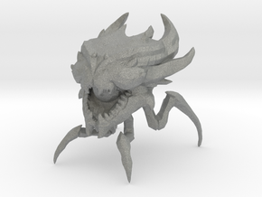 Beholder Arachnoid 41mm miniature fantasy game rpg in Gray PA12