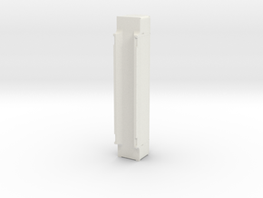 A-Stack Container SFCM 950005-7 in White Natural Versatile Plastic: 1:87 - HO