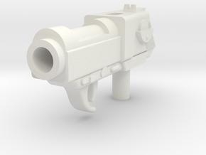 Deceptive Leader Blaster in White Natural Versatile Plastic