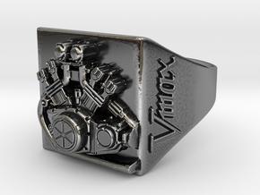 bague moteur VMAX (T64)  in Antique Silver