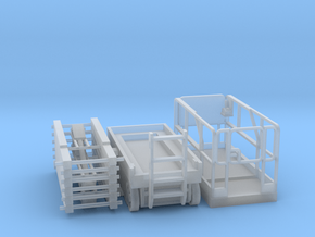 Scissor Lift 1-72 Scale Parted in Smooth Fine Detail Plastic