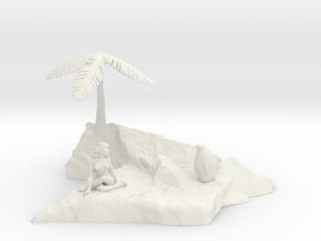 Rock Island Rendezvous  in White Natural Versatile Plastic