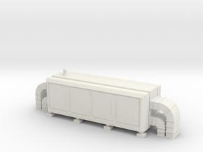 Air Handling Unit 1/72 in White Natural Versatile Plastic