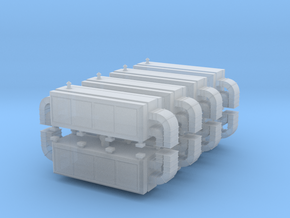 Air Handling Unit (x8) 1/400 in Smooth Fine Detail Plastic