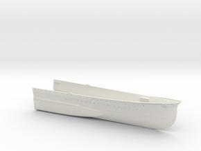 1/350 Heavy Cruiser Furutaka (1942) Bow in White Natural Versatile Plastic