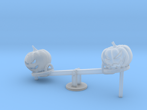 S Scale Seesaw Pumpkins in Smooth Fine Detail Plastic