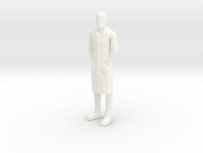 Jonny Quest - Dr Quest in White Processed Versatile Plastic