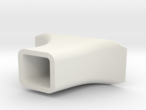 ForeGrip hollow in White Natural Versatile Plastic