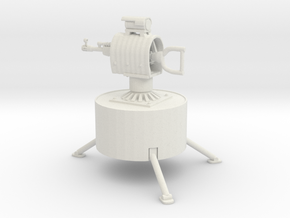 The auto turret from rust in White Natural Versatile Plastic: Small