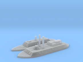 1/700 CSS Arkansas & City class Detailed in Smooth Fine Detail Plastic