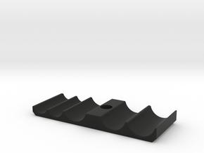 Rail ClampBase in Black Natural Versatile Plastic