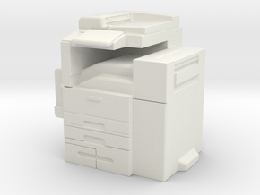 Office Printer 1/43 in White Natural Versatile Plastic