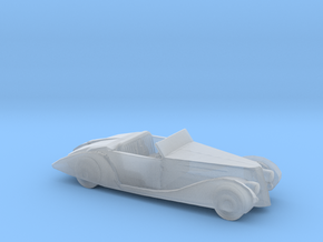 HO Scale 1939 Delahaye in Smooth Fine Detail Plastic