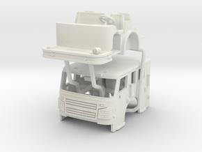 Rosenbauer 1/64 Flat Roof Cab in White Natural Versatile Plastic