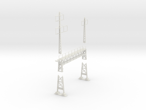 PRR signal lattice 2x2-3_3 track in White Natural Versatile Plastic