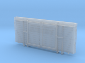 BR/LMS 12 ton Pallet Van sides only - 7mm scale in Smooth Fine Detail Plastic