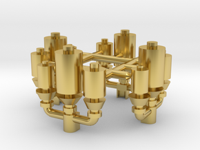 Trumpeter Titanic Whistle set in Polished Brass