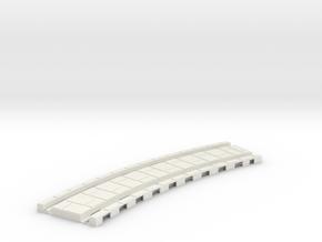 p-32xb-tram-curve-200-360r-1a in White Natural Versatile Plastic