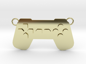 Playstation PS Controller (Contact to Add Stones) in 18K Yellow Gold
